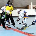 Joueuses roller hockey